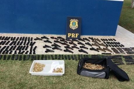 A apreensão é considerada a segunda maior realizada pela Polícia Rodoviária neste ano no Paraná
