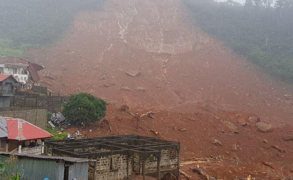 Serra Leoa: sobe número de mortos em deslizamento de terra