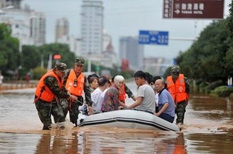 Resultado de imagem para Tempestades matam pelo menos sete pessoas no Norte da China