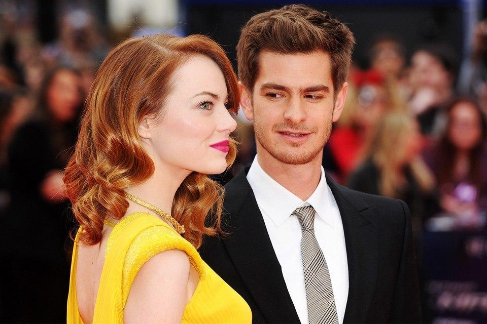 Emma Stone e Andrew Garfield estão 'cada vez mais próximos'