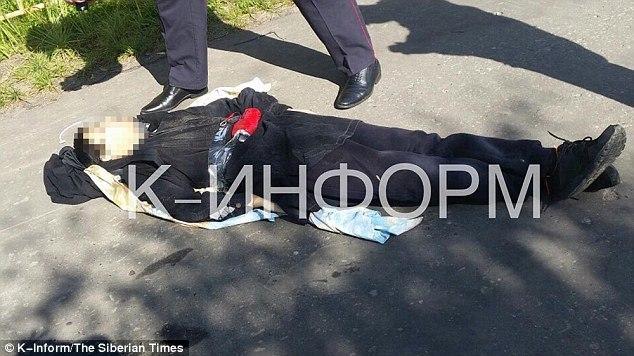 Homem com faca abatido na Rússia após ferir oito pessoas