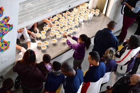 Ação serviu mais de 5.000 refeições em São Paulo