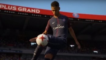 Neymar aparece em 3º na lista dos melhores jogadores do Fifa 18 (Reprodução)