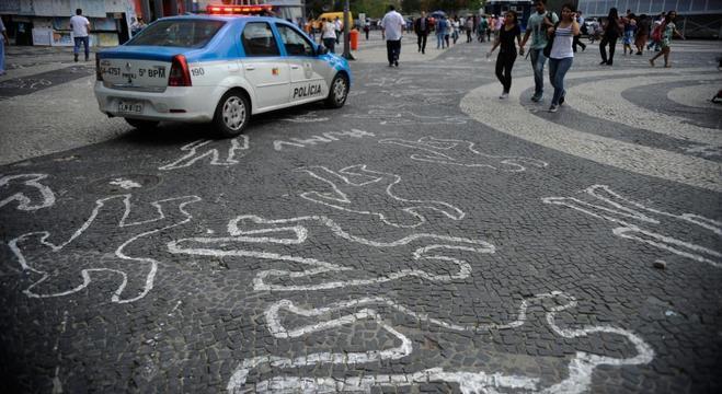 Brasil é o 9º país mais violento do mundo, com 31,1 mortes a cada 100 mil pessoas