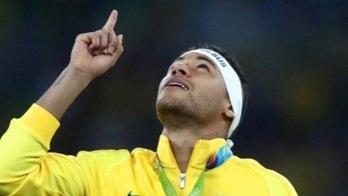 Neymar relembra inédita medalha de ouro da seleção na Rio 2016 um ano após conquista (neymar, olimpíadas 2016)
