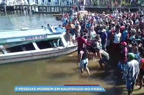 Familiares se reuniram em Porto de Moz em busca de informações