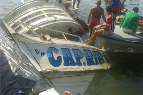 Embarcação naufragou no rio Xingu