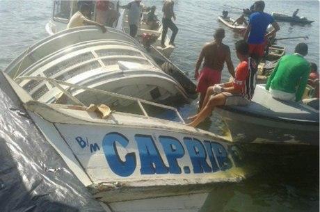 Naufrágio aconteceu durante a noite no rio Xingu