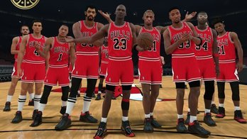 NBA 2K18 permite jogar com o melhor de cada time na história (Reprodução/Twitter)