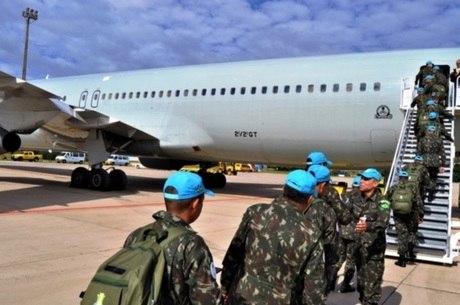 Último contingente de soldados brasileiros embarcou para o Haiti em maio de 2017