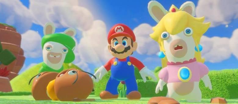 Game mistura os personagens do Reino dos Cogumelos com os coelhos malucos da Ubisoft