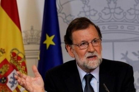 Rajoy afirmou na semana que não haveria plebiscito