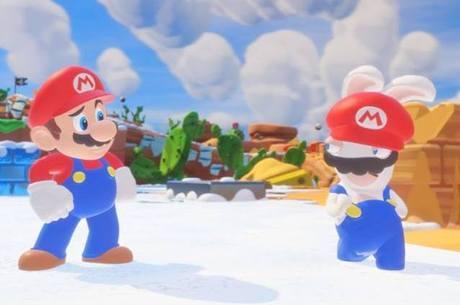 Dose certa: não há chacotas com Mario no game...