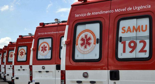 Governo definiu prioritário abastecimento de ambulâncias do SAMU