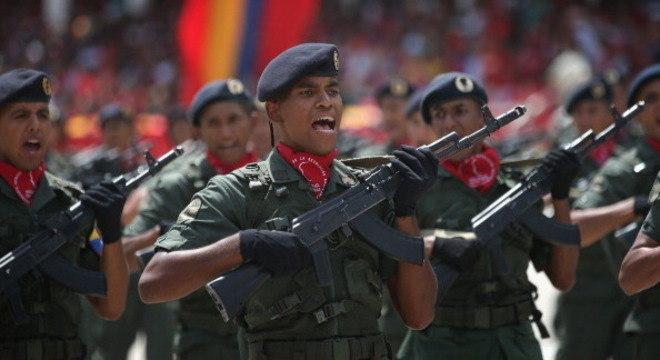 Forças Armadas são aliadas fortes do governo de Nicolás Maduro