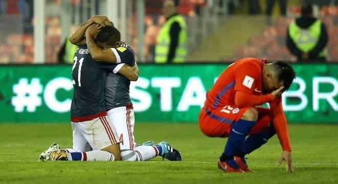 Vidal marca contra e Paraguai vence Chile nas Eliminatórias ... 7e777c7760634