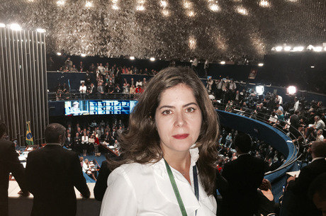 A jornalista Mariana Londres