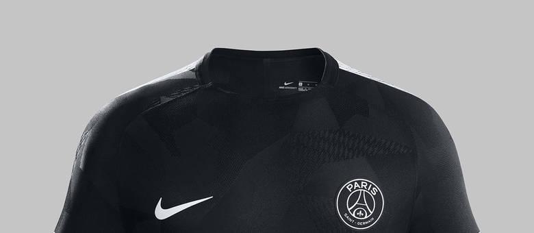 0fa0163fdf PSG lança nova terceira camisa com Neymar e Mbappé de modelos ...