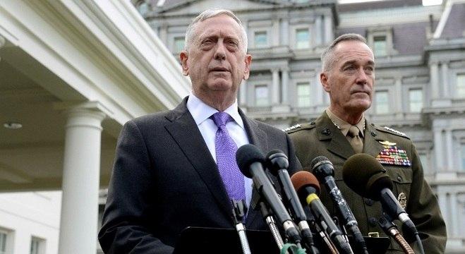 Secretário de Defesa dos EUA prometeu 'resposta militar massiva' se preciso