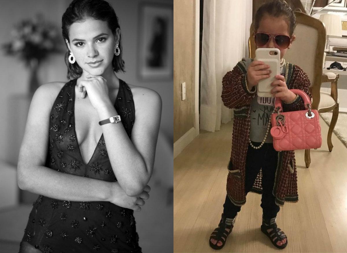 8a7e2eedc ... O que Bruna Marquezine e Ysis, a filha de dois anos de Wesley Safadão,  ...