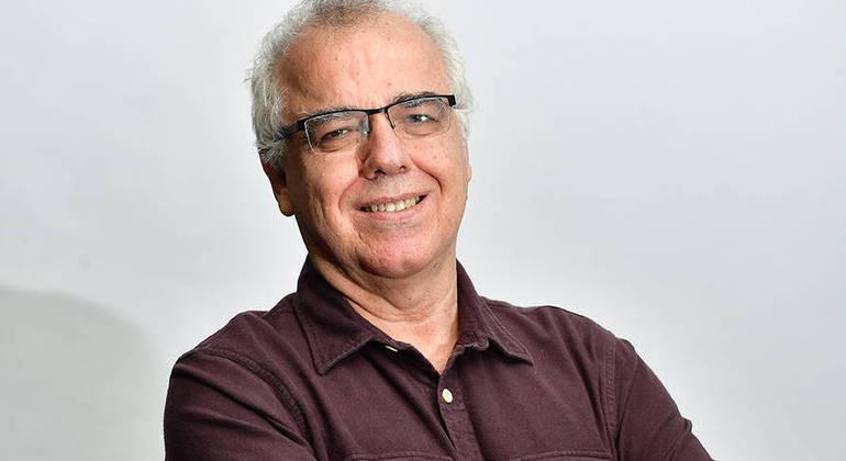 O jornalista Domingos Fraga