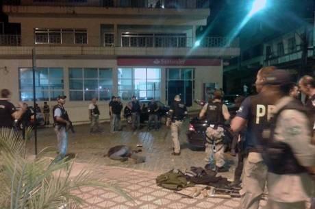 Criminosos foram surpreendidos por ação conjunta das polícias de Minas e São Paulo