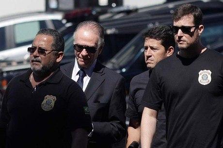 Nuzman prestou depoimento na sede da Polícia Federal