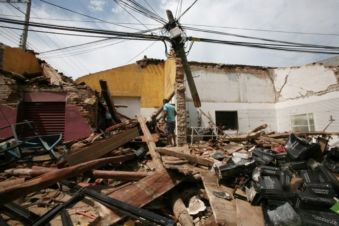 De acordo com as informações oficiais, foram 45 mortos no estado de Oaxaca, 15 em Chiapas e 4 em Tabasco