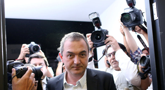 Joesley Batista está preso na Polícia Federal em São Paulo