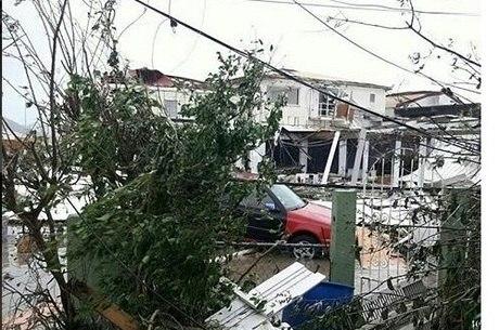 Saint Martin destruída: local não tem atendimento consular brasileiro