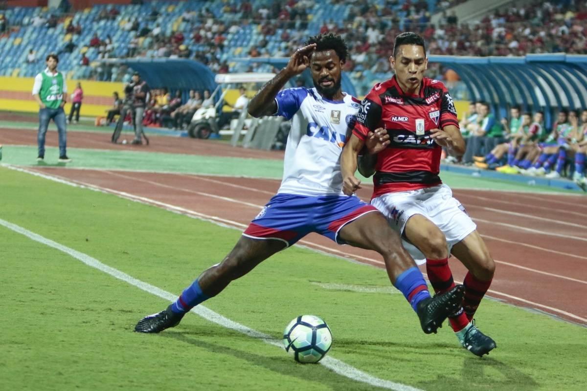 Brasileirão: Atlético-GO e Bahia ficam no empate em Goiânia
