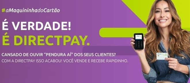 Com a maquininha DirectPay não é necessário comprovar renda