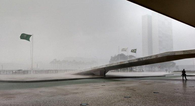 Praça dos Três Poderes em Brasília - DF