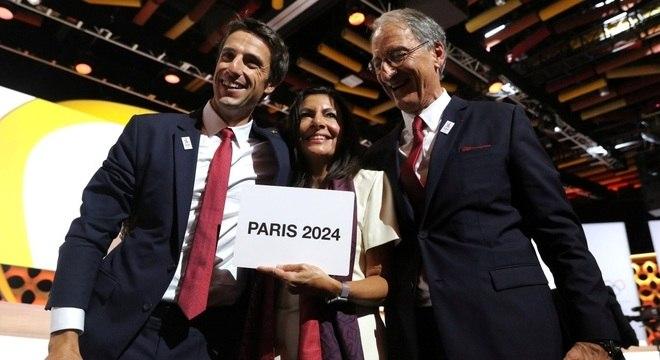 Olímpiadas de 2024 em Paris foi confirmada nesta quarta-feira (13)