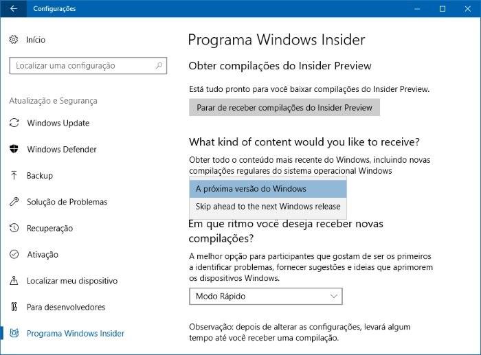Fall Creators Update dará controle sobre permissões para apps no Windows 10