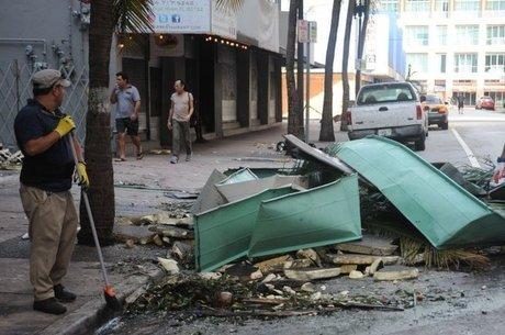 Furacão Irma chegou a Miami no domingo