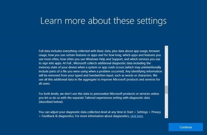 Atualização do Windows 10 vai dar mais controle de privacidade ao usuário