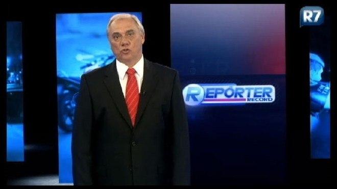 Na Record TV, o jornalista também apresentou o Repórter Record Investigação