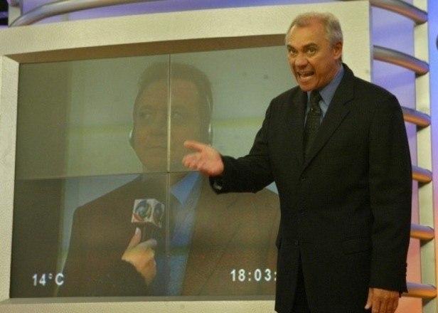 A primeira passagem de Rezende na Record TV foi em 2004, no Cidade Alerta
