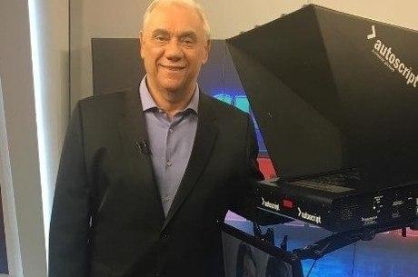 Marcelo Rezende apresentava o Cidade Alerta desde 2012