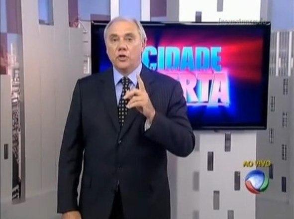 Foi em 2012 que Marcelo Rezende voltou ao comando do Cidade Alerta