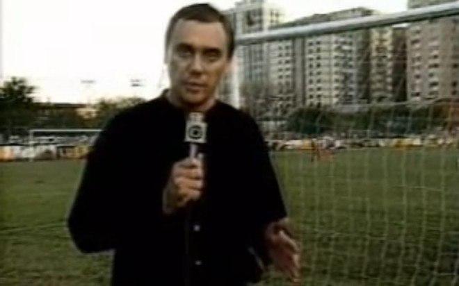 Marcelo Rezende estreou na TV Globo em 1987. Ele era repórter esportivo e participava do programa Globo Esporte