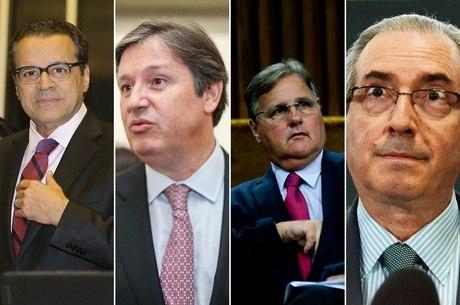 Alves, Loures, Geddel e Cunha estão entre os réus