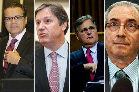 Henrique Eduardo Alves, Rocha Loures, Geddel e Cunha já estão na cadeia