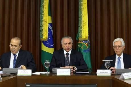 Além de Temer, Padilha e Moreira Franco também são apontados por Janot como integrantes do esquema de corrupção