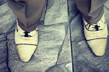 O sapato faz parte do visual do malandro