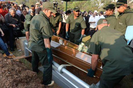 Marcelo Rezende foi sepultado neste domingo, em São Paulo