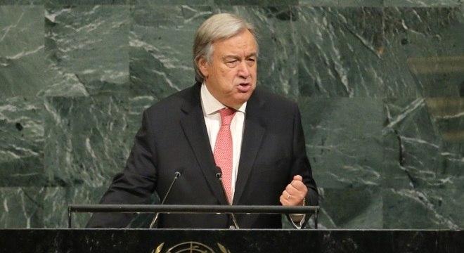 A reunião foi convocada pelo secretário-geral da ONU, António Guterres, e países
