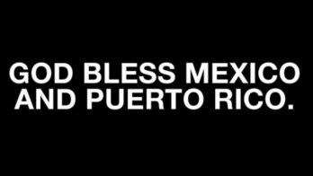 Celebridades prestam solidariedade aos mexicanos após terremoto (Reprodução)