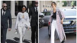 Veja o que os famosos estão vestindo em Milão ()